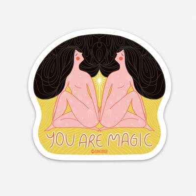 You Are Magic Sticker