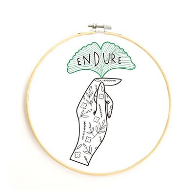 Endure Embroidery Kit