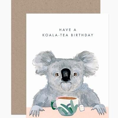 Have A Koala-Tea Birthday