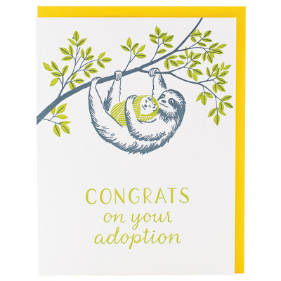 Congrats on Your Adoption