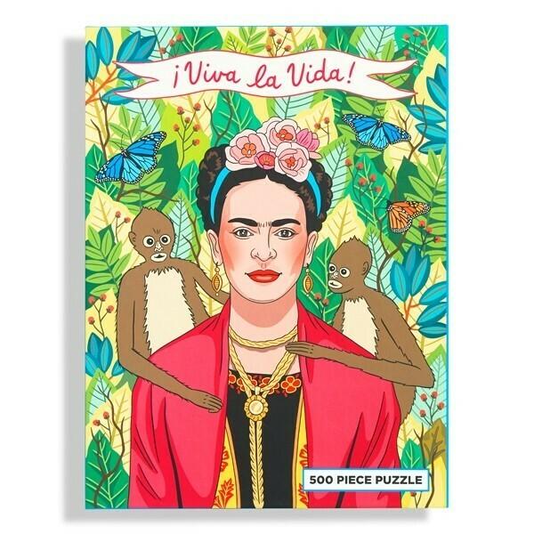 Viva la Vida Frida Kahlo Puzzle
