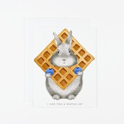 I Like You A Waffle Lot