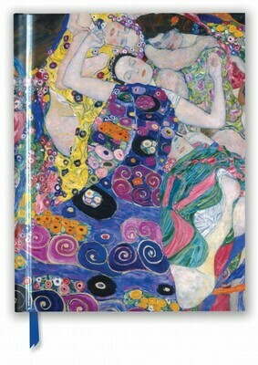 Gustav Klimt Blank Notebook