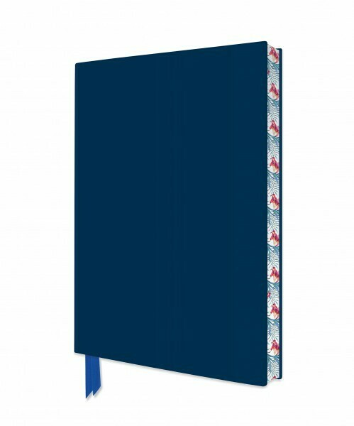 Metallic Blue Artisan Notebook (Flame Tree Journals)
