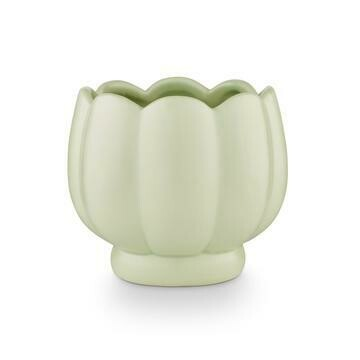 Lily Ceramic Flower Soy Candle