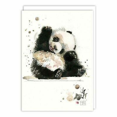 Baby Panda Blank Card