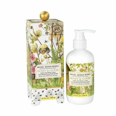 Honey & Clover Hand and Body Lotion