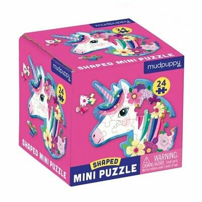 Unicorn Shaped Mini Puzzle