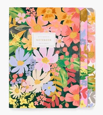 Assorted Set of 3 Marguerite Notebooks