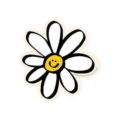 Happy Daisy Sticker