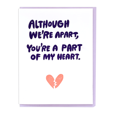 A Part of My Heart Card