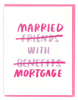 Married with Mortgage Card