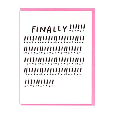 Finally!!!!!!!!!! Card