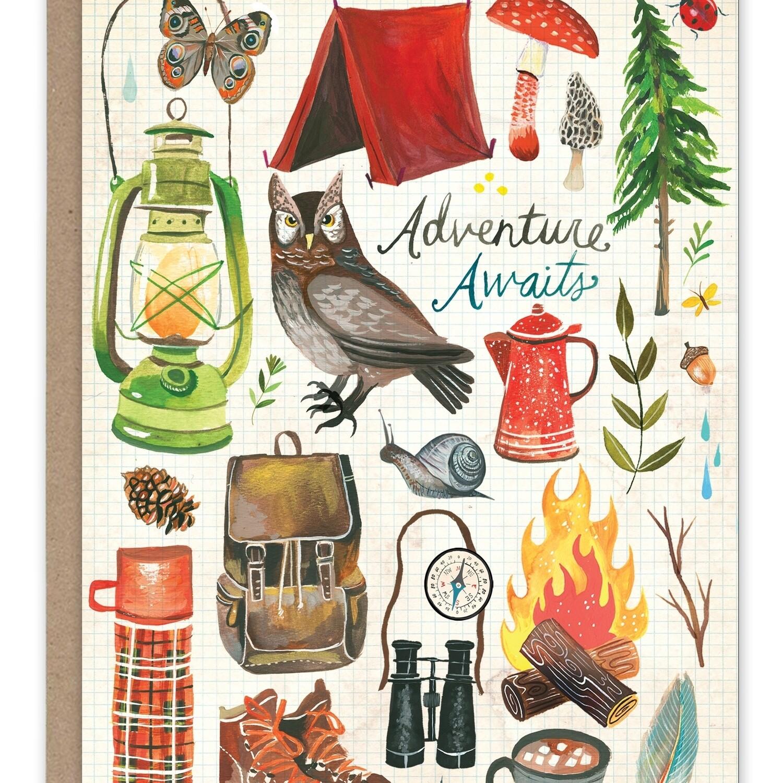 Adventure Awaits Birthday Card
