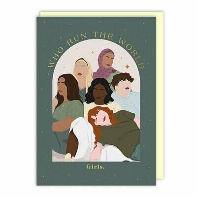 Run the World Friendship Card