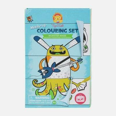 Colouring Set Monster Mash