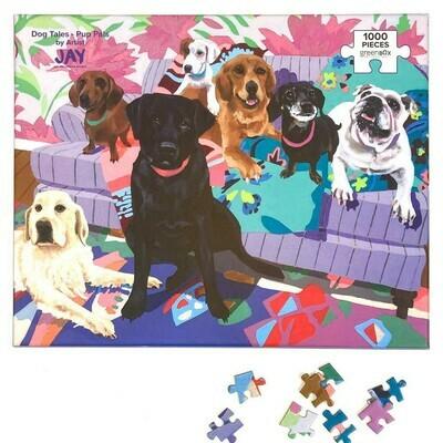 Dog Tales - Pup Pals 1000 piece Puzzle