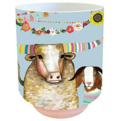 Corn Muffins Vase