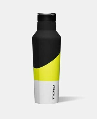 Corkcicle 20oz Electric Yellow Sport Canteen