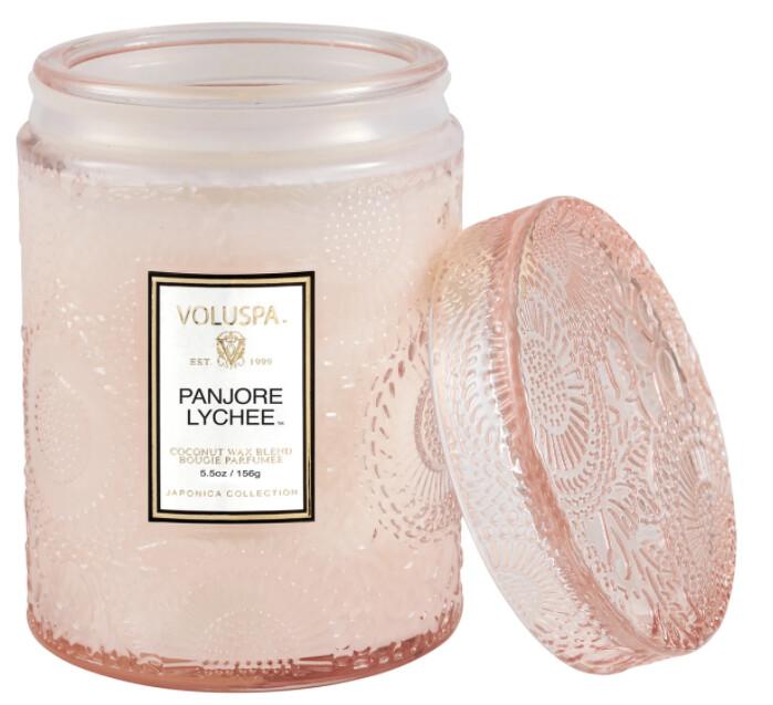 Panjore Lychee 5.5oz Jar Candle