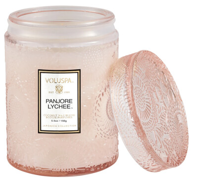 Panjore Lychee 5.5oz Jar Candle