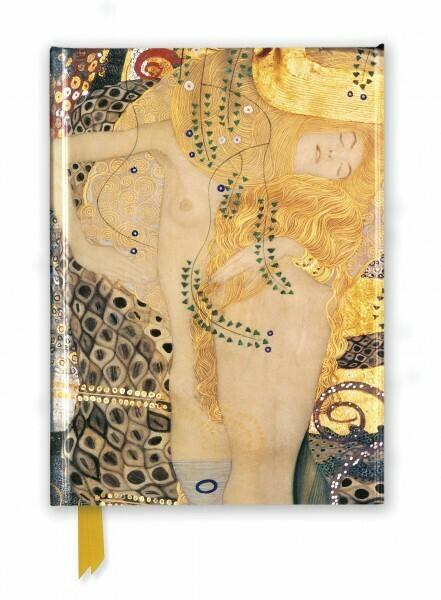 Gustav Klimt: Water Serpents Foiled Journal