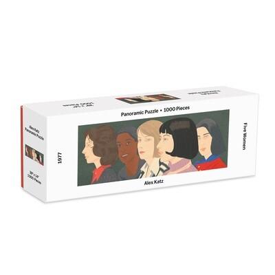 """MoMA Five Women - Alex Katz"" 1000-Piece Panoramic Puzzle"