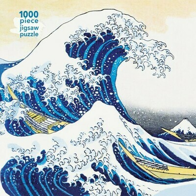 Hokusai: The Great Wave 1000 Piece Jigsaw Puzzle
