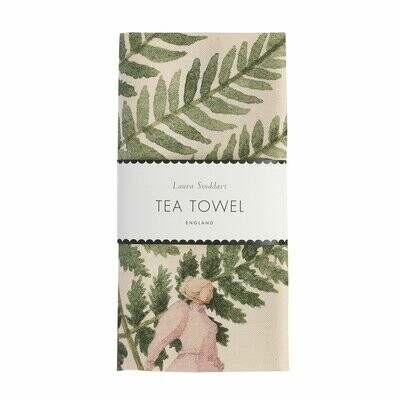 Fabulous Ferns Tea Towel