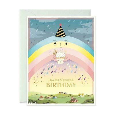 Creepy Rainbow Birthday