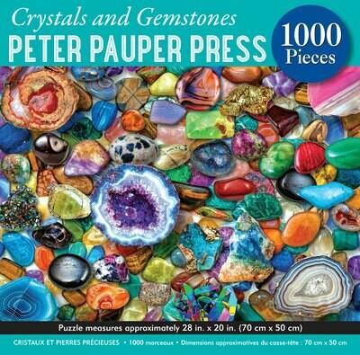 Crystals and Gemstones 1000 Piece Puzzle