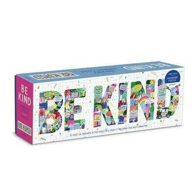 Be Kind 1000 Piece Jigsaw Puzzle