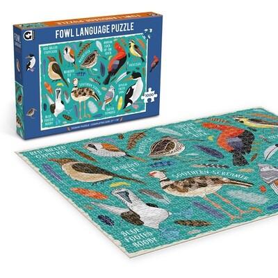 Fowl Language 1000 Piece Puzzle