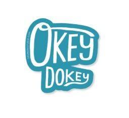 Okey Dokey Sticker