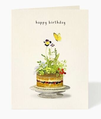 Garden Party Birthday Card