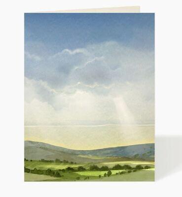 Rays of Light Card