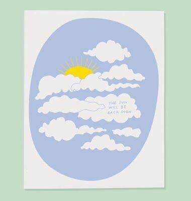 Sun Will Be Back Card
