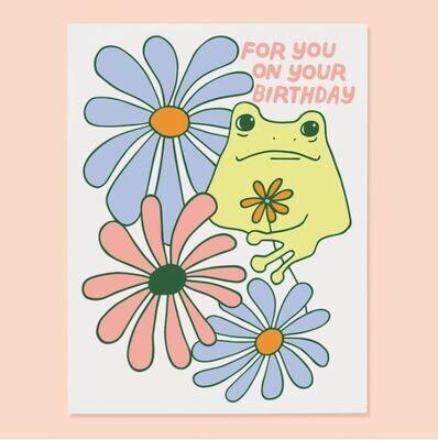 Bday Frog Card