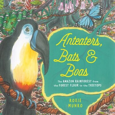 Anteaters, Bats & Boas by Roxie Munro