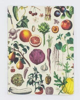 Fruit & Vegetables Softcover Dot-Grid Notebook