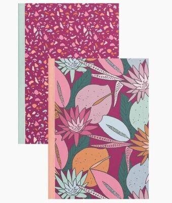 Floral Nights Notebook Set