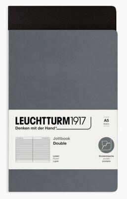 Jottbook Pack of 2 - Anthracite & Black / Ruled