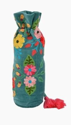 Wine Bottle Embroidery Cover