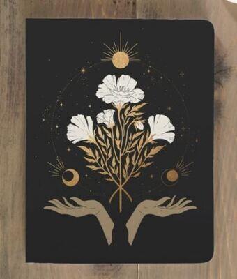 Celestial Flowers Notebook