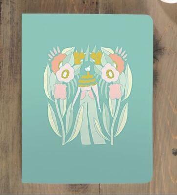 Garden Girl Notebook