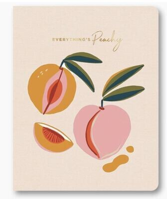 Everything's Peachy Notebook