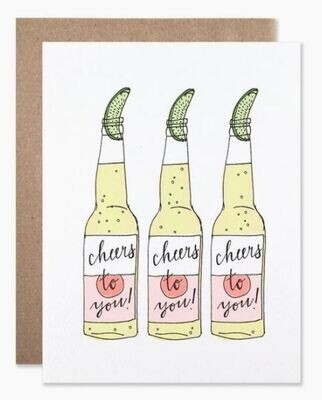 Cheers Beer Card