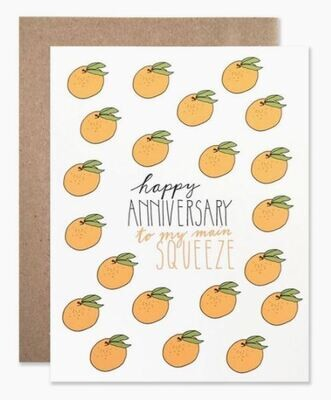 Anniversary Squeeze Card