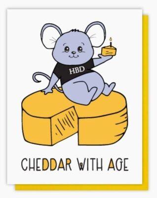 Cheddar with Age Card
