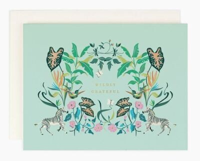 Wildly Grateful Boxed Card